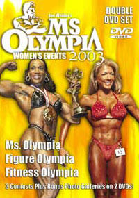 2003 Ms. Olympia - 2 DVD set Women's Events